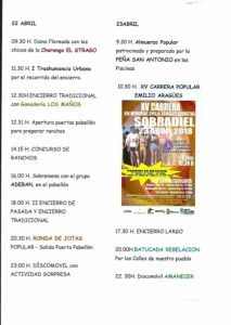 Fiestas San Marcos - Sobradiel 2018 - 3
