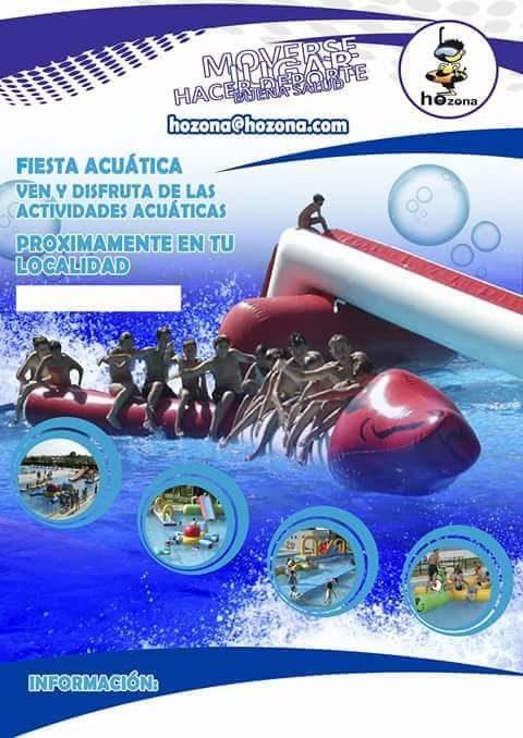 fiesta acuatica 3 de julio
