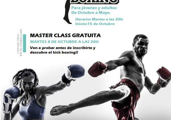 Máster class de Kick Boxing