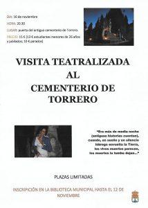 Visita al cementerio de Torrero