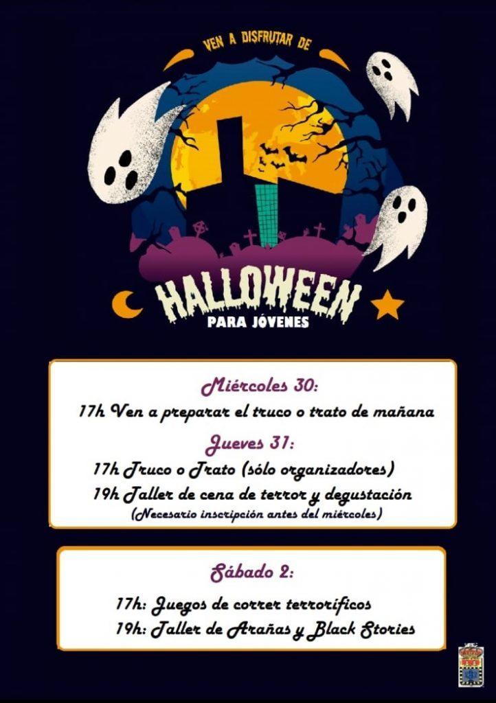 Halloween para jóvenes