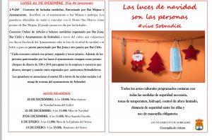 Programa actos navideños